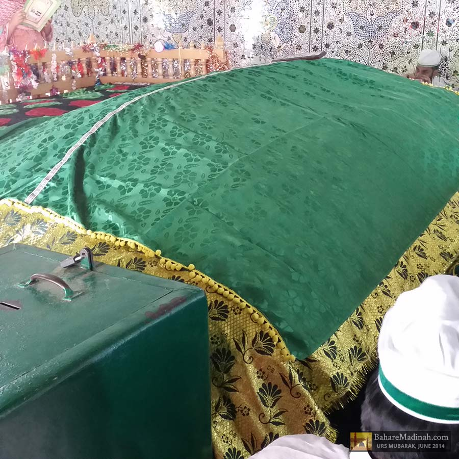 Sacred resting place of Khwaja Ghulam Mohiuddin Ghaznavi