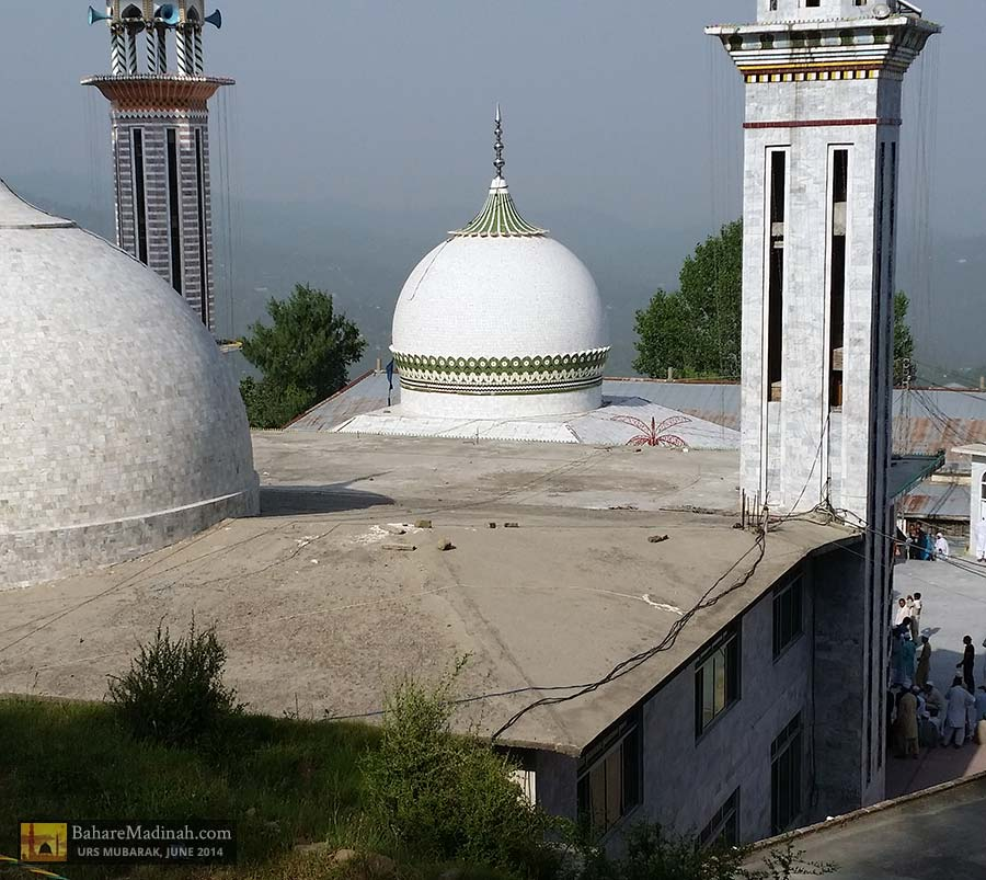 A stunning view of Darbar Nerian Sharif