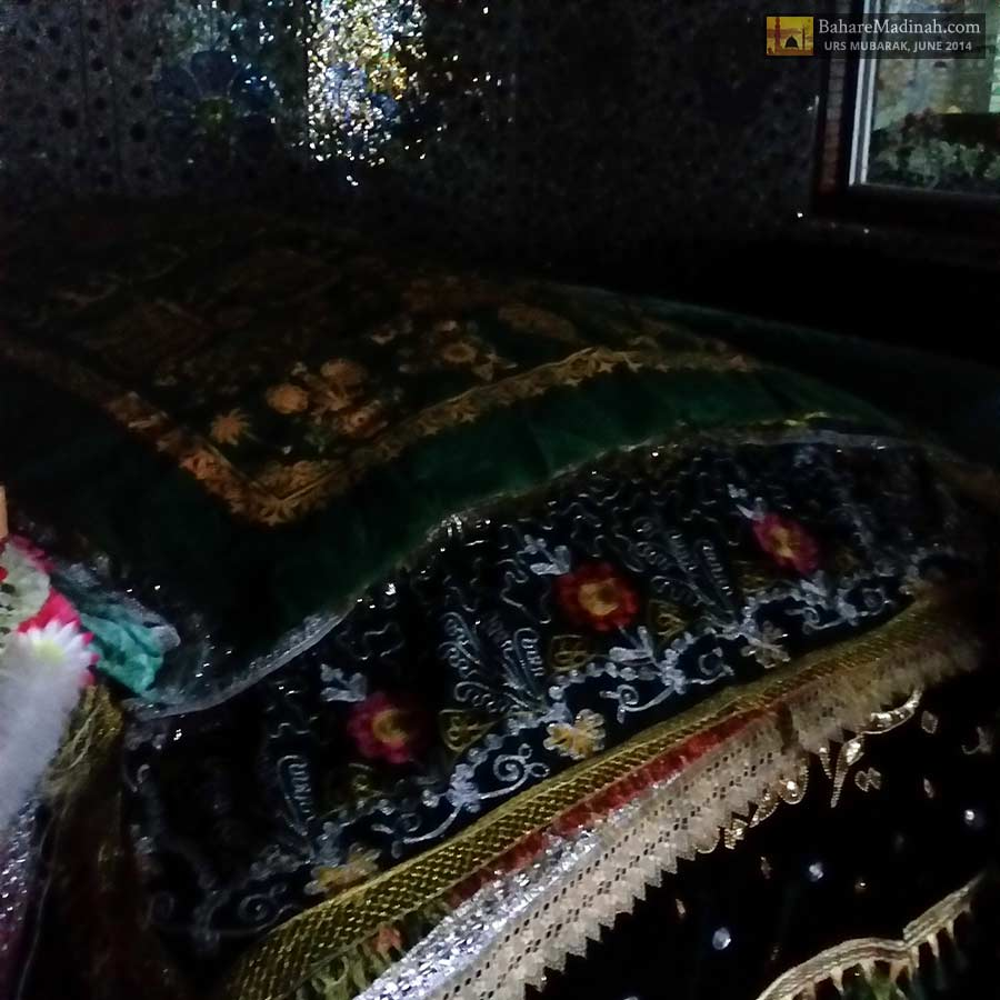Blessed maqaam/resting place of Khwaja Ghulam Mohiuddin Ghaznavi at night
