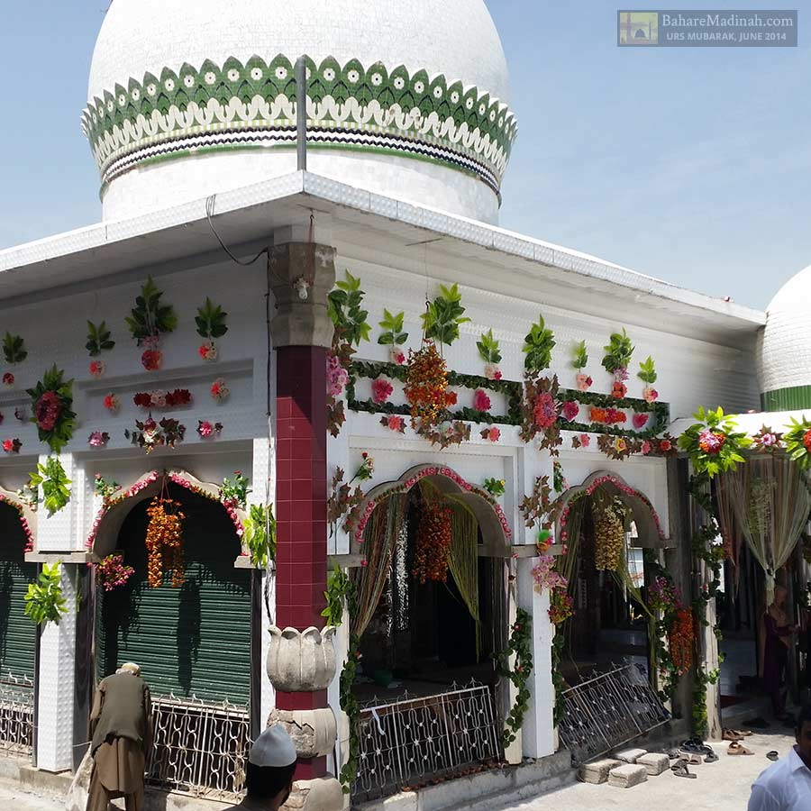 Darbar Sharif beaming in the sunlight
