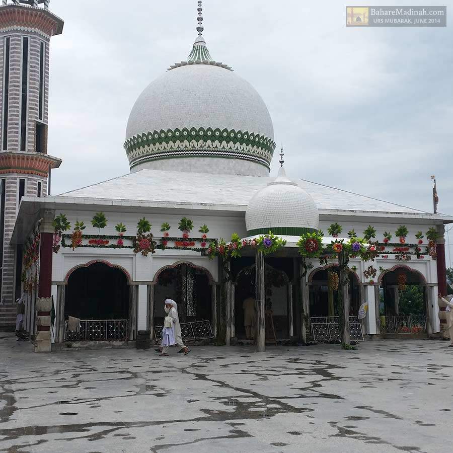 Tranquil atmosphere of Darbar Sharif