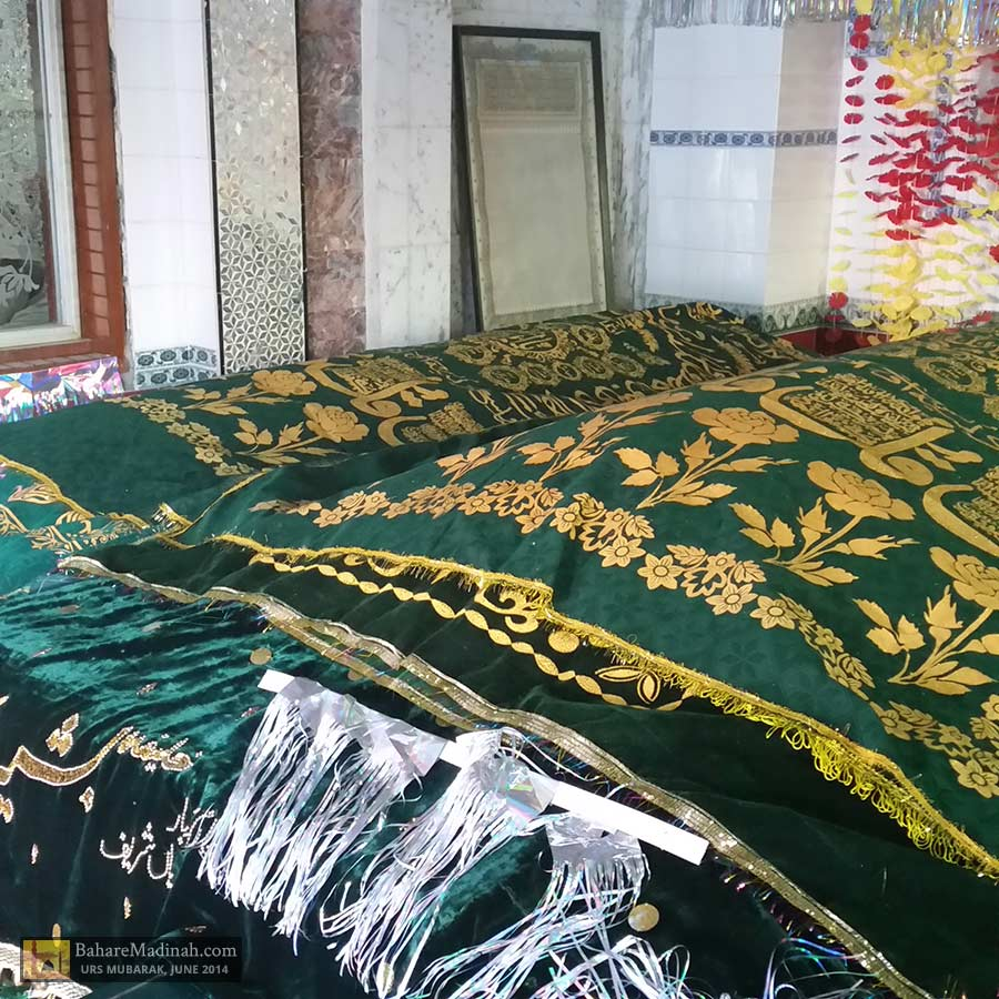 Blessed maqaams/resting places of the awliya of Nerian Sharif: Khwaja Pir Saani Sahib and his son, Pir Abdul Ghaffar Ghaznavi