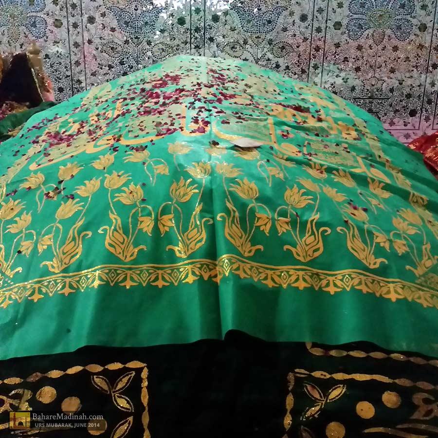Blessed maqaam/resting place of Khwaja Ghaznavi