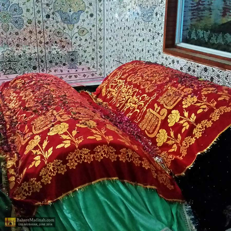 Blessed maqaams/resting places of two sons of Khwaja Ghaznavi: Hadhrat Pir Nizamuddin Qasmi & Imam Rabbani Farooqi