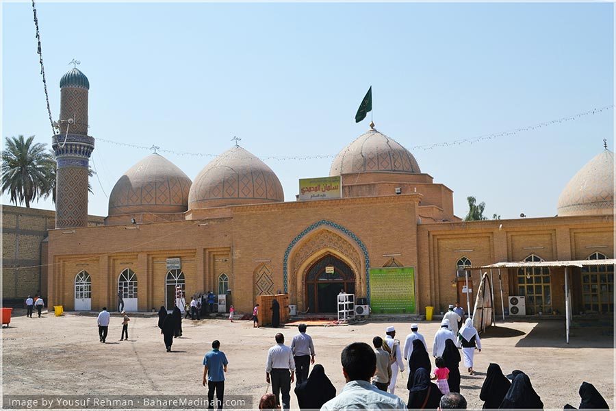 Inside the Mausoleum of Sayyidina Salman al Farsi & Sayyidina Hudhayfa ibn al Yaman · Baghdad, Iraq (2013)