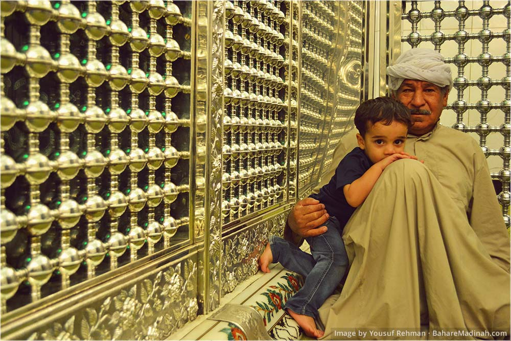 Caretaker at Mausoleum of Sayyidina Ghawth ul Aazam · Baghdad, Iraq (2013)