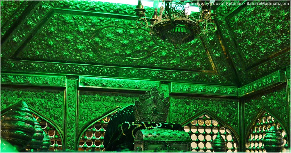 Inside the Mausoleum of Sayyidina Ghawth ul Aazam · Baghdad, Iraq (2013)