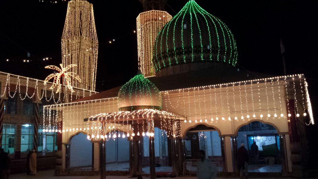 (4th June 2015) Darbar Aalia Nerian Sharif at night
