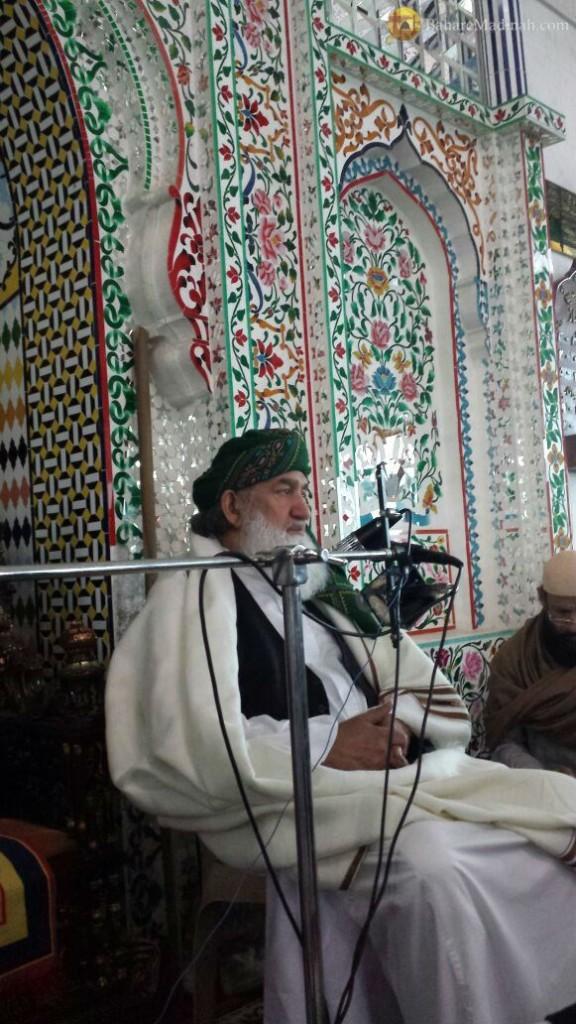 (5th June 2015) Shaykh ul Aalam delivering a speech in Darbar Sharif