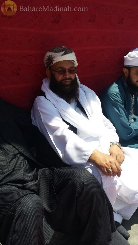 (7th June 2015) Sahibada Ghulam Jilani Sahib of High Wycombe, at Urs Mubarak 2015, Darbar Aalia Nerian Sharif