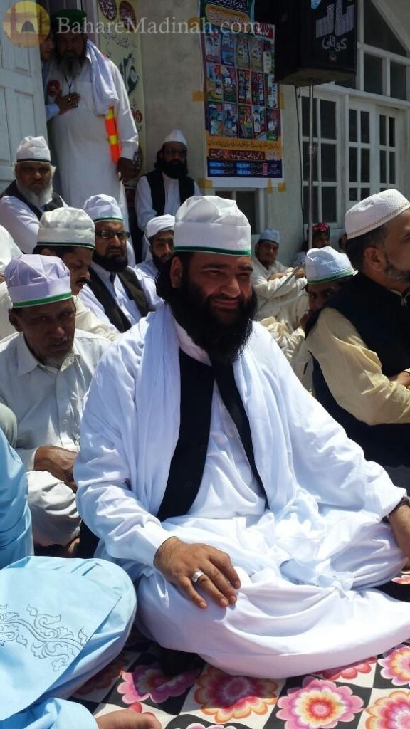 (7th June 2015) Khalifa Allama Mohammad Nawaz Hazarvi Sahib, at Urs Mubarak 2015, Darbar Aalia Nerian Sharif