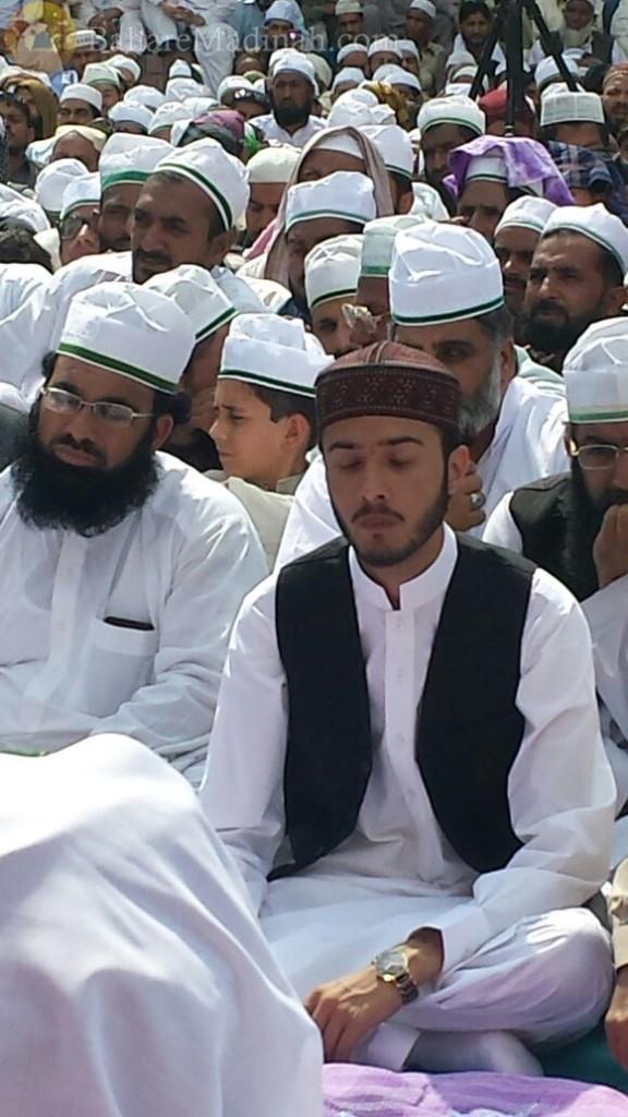(7th June 2015) Khalifa Sahibzada Zahid Qasim Sahib, at Urs Mubarak 2015, Darbar Aalia Nerian Sharif